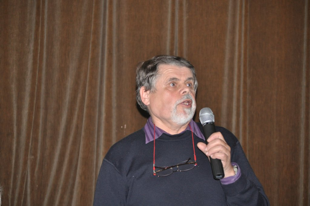 Martin Říha na besedě v Horním Jiřetíně